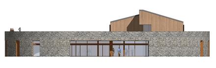 Projekt architektoniczny hotelu z centrum sportowym