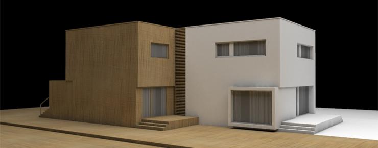 Projekt domu dwurodzinnego