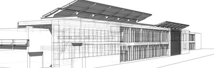 Projekt architektoniczny Inkubator Wysokich Technologii