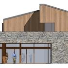 Projekt architektoniczny centrum sportu z bazą hotelową