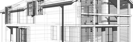 Tradycyjny budynek jednorodzinny projekt