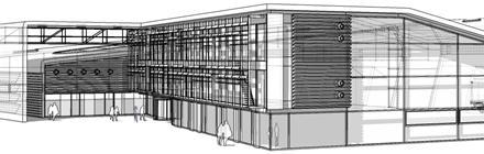 Projekt architektoniczny hala produkcyjna