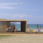 Projekt pawilonu przy plaży