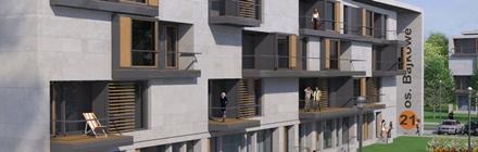Projekt architektoniczny bloków mieszkalnych